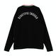 Motivestreet RAINBOW NECK POINT LSV TEE (Black)