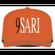 9SARI SNAPBACK CAP (ORANGE)