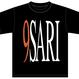 9SARI tee (BLACK)