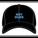 HEY DUDE polo cap (BLACK)