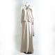 【新古品】サテンホルターロングドレス