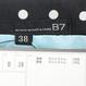 【アウトレット特価】B7半袖タッキングワンピース