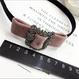 velvet  stone  headband
