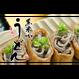 北海道産 黒米うどん5袋 ※送料込(おまけ付)