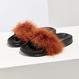Camel fur sandals