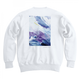 「OOPARTS」スウェット / 002 (white)