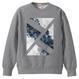 「思案の海に」スウェット / 003 (gray)