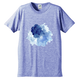「ゆらぎ」Tシャツ / 002 (blue)