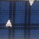 タータンチェックのクマさん柄シャツ