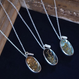 新作!送料無料 Herbarium Necklace・Sky Blue