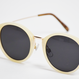 272967023 White Frame Sunglasses