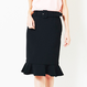 271851002 Hem Frill Tight Skirt