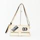 372961021 Brooklyn Cruch Bag  Gold