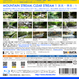 4Kカメラ映像【Healing Blue ヒーリングブルー】渓流•清流 - 1 〈動画約60分〉ポストカード10種付属