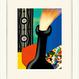 No.119★【 噴出 2】 額装ジークレー版画(デジタルリトグラフ)