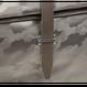 ARUMO クラッチバッグ / グレーカモフラージュ x グレーレザー