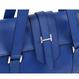 ARUMO レザートートバッグ S / ネイビーブルー
