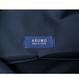 ARUMO レザーショルダーバッグ  / ネイビーブルー