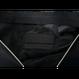 ARUMO クラッチバッグ / ブラックキャンバス x ブラックレザー