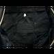 ARUMO トートバッグ / ブラックキャンバス x ブラックレザー