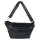 Eco Fur Body Bag (Black)