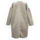 Eco Fur Coat (Gray)