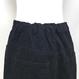 Corduroy Long Skirt (Black)