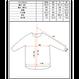 [予約販売2月発送] Hiker's T-shirt  (8sleeve) size:XS(レディスM)