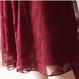 【即納OK!!】フィッシュテール レースエレガンス美ドレス ボルドー