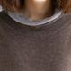 【即納OK!!】フェイクセーター&グレンチェックワイドパンツ