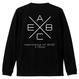 Cross L/S TEE Black
