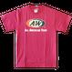 A&WロゴTシャツ:ピンク