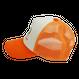 メッシュロゴキャップ:オレンジ