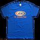 A&WロゴTシャツ:ブルー