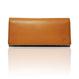 "made in Ryogoku ""粋"" HOKUSAI  Long Wallet  (Natural Brown)"