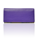 """made in Ryogoku """"粋"""" HOKUSAI  Long Wallet  (Viola)"""