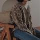 【予約商品】レオパードニットカーディガン