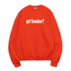 """19SS""   PANDEMIC  got Sneaker massege  Sweat    -Orange-"