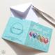 グリーティングカード「ありがとう・おめでとう」(本体価格:¥390)