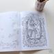 【再入荷】COLORING BOOK 'SLEEPING BEAUTY'  ぬりえ(本体価格:¥1,100)