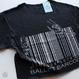 CROPPED T-SHIRT  'BALLET BARCODE'(本体価格:¥4,300)