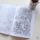 COLORING BOOK 'SLEEPING BEAUTY'  ぬりえ(本体価格:¥1,000)