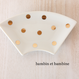 Gold dots plate Japanese STYLE