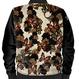 薔薇と蝶 レディースボンバージャケット・ブルゾン