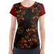Rose and Butterfly T shirt