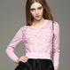 flower lace knit