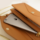 PAPRIKA 【ロングレザーウォレット】 *ショルダーチェーン付き-財布-上質牛革を使用したお財布バッグ