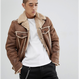 Boa  Jacket  BROWN