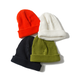 Name. : COTTON KNIT BEANIE DAMAGED EFFECT