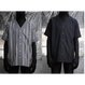 TAAKK : EMBROIDERY STRIPE SHIRT